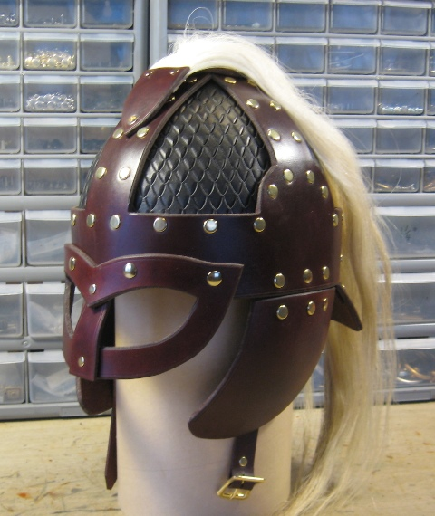 Hasty Plume by Leather Helms